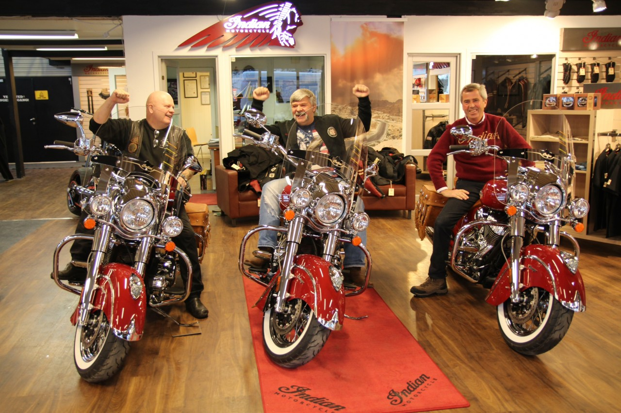 join indian motorcycle owners on a seven-day tour through norway in