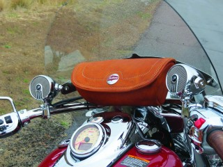 Handlebar Bag and Handlebar Speakers