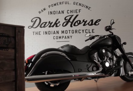 Screengrab from the video of the Chief Dark Horse launch in Chicago, February 13th