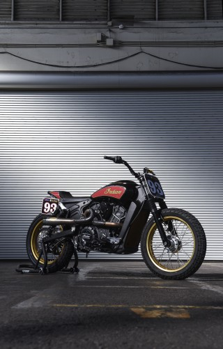 In Pictures Scout Sixty Super Hooligan Race Bikes Indian