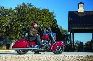 Steve Menetto on Indian Springfield
