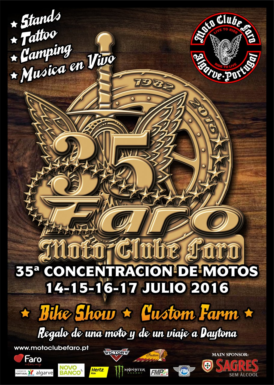 Warm Up For This Year S Faro 35 Motorcycle Rally With Indian Motorcycle Indian Motorcycle Media Emea