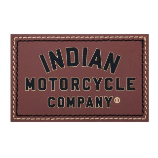 2863986 IMC brown leather patch