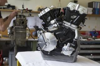 FTR750 engine
