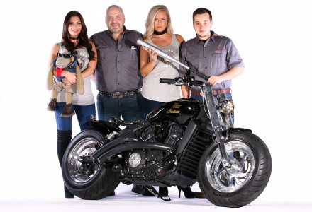 Indian Motorcycle Project Scout. Build a Legend. Motorcycle Live 2016, NEC Birmingham, UK. 22 November 2016. Thug
