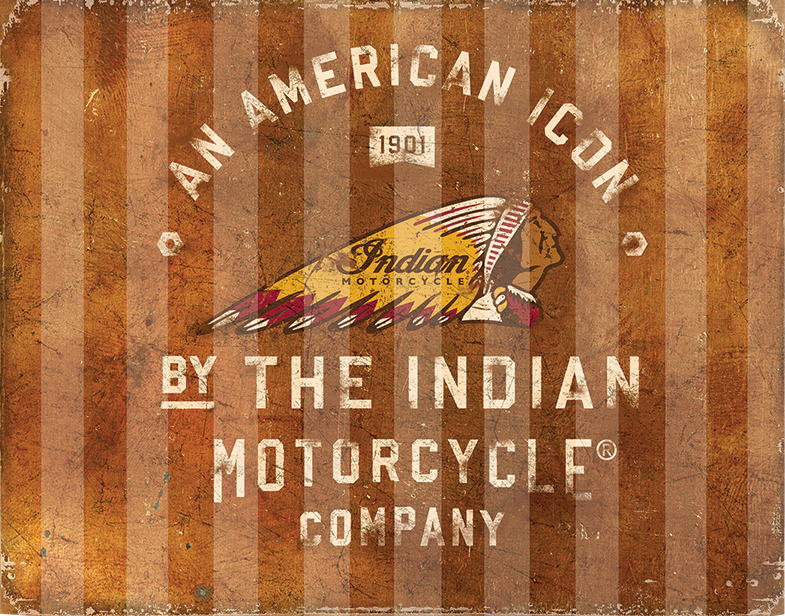2863976 American Icon Corrugated Sign