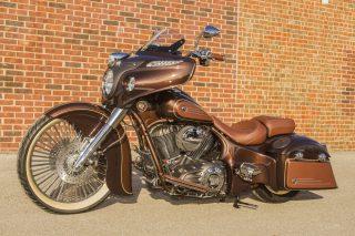 Classic Elegance_Head Indian Motorcycycle