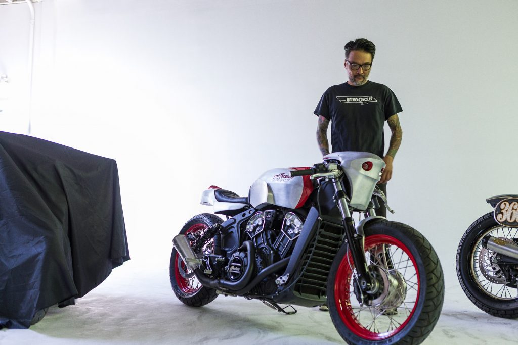 Three Custom Indian Scout Bobber Bikes From The Brooklyn Invitational Indian Motorcycle Media Emea